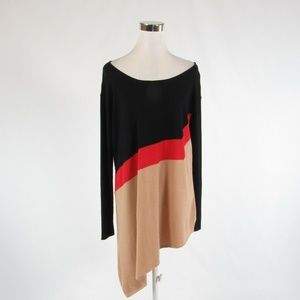 Beige black CATHERINE MALANDRINO sweater M